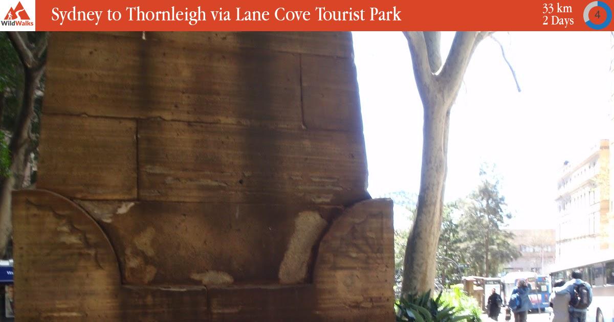 Sydney to Thornleigh via Lane Cove Tourist Park walking track
